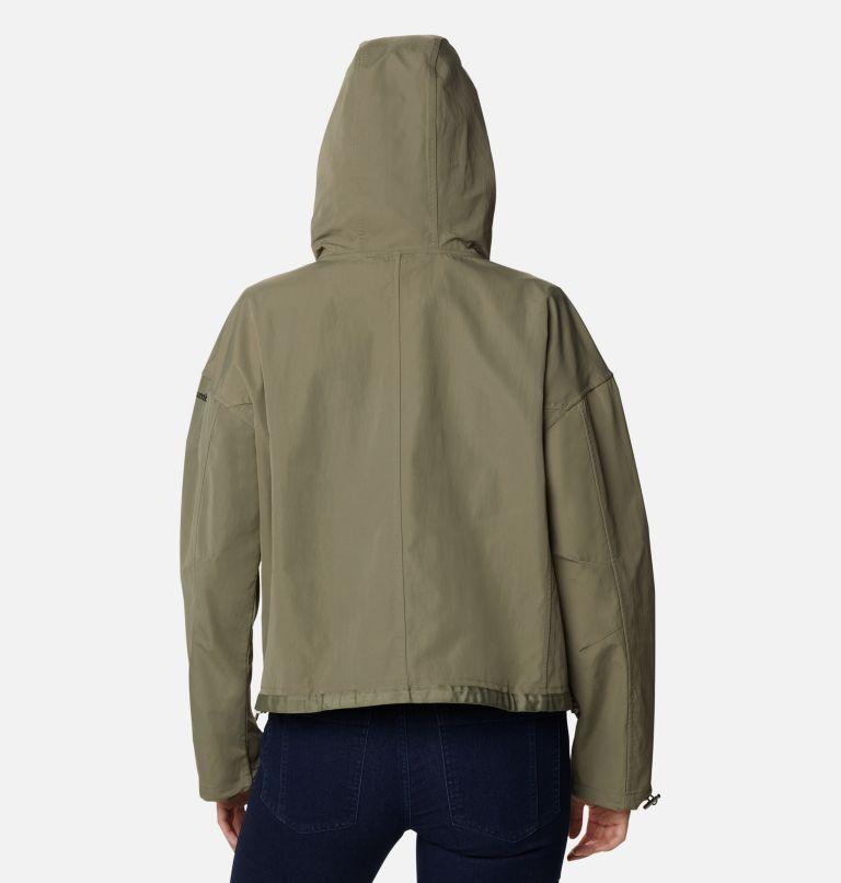 Day Trippin'™ Crop Jacket | 397 | XS Women's Day Trippin'™ Crop Jacket, Stone Green, back