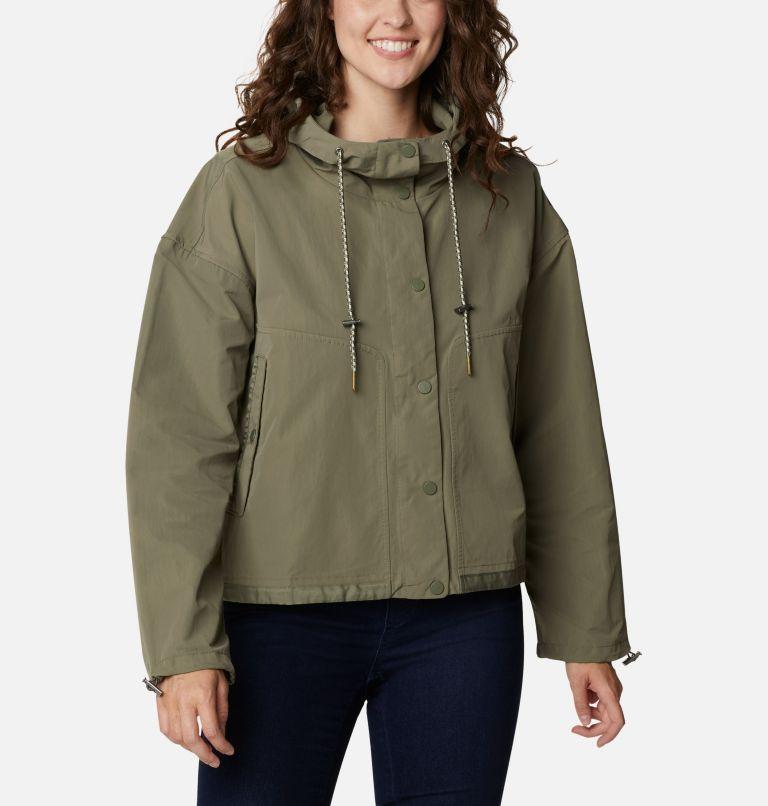 Day Trippin'™ Crop Jacket | 397 | XS Women's Day Trippin'™ Crop Jacket, Stone Green, front