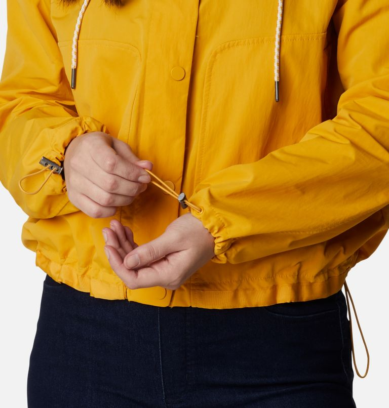 Day Trippin'™ Crop Jacket | 790 | L Manteau court Day Trippin'™ pour femme, Bright Gold, a4