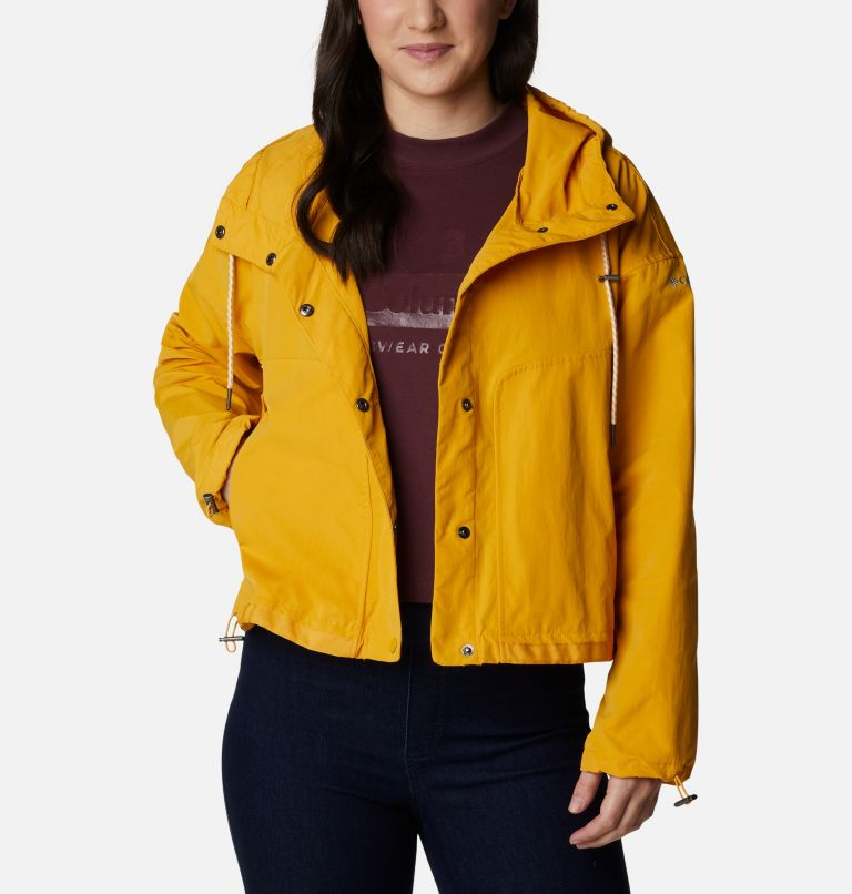 Day Trippin'™ Crop Jacket | 790 | M Manteau court Day Trippin'™ pour femme, Bright Gold, front