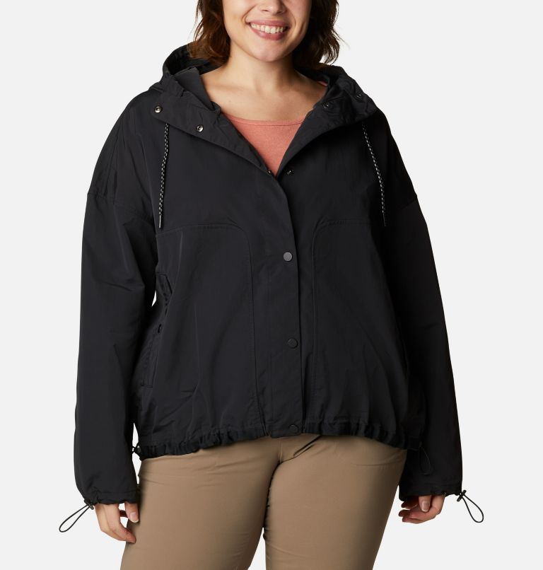 Women's Day Trippin'™ Crop Jacket - Plus Size Women's Day Trippin'™ Crop Jacket - Plus Size, front