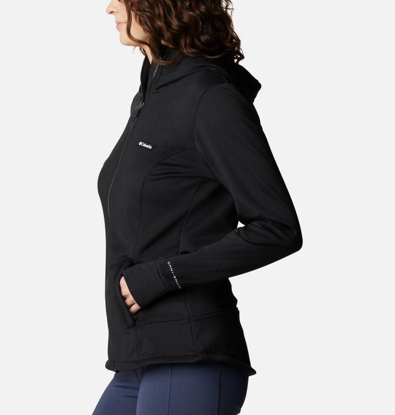 Windgates™ Tech Fleece FZ | 010 | M Women's Windgates™ Tech Full Zip Fleece, Black, a1