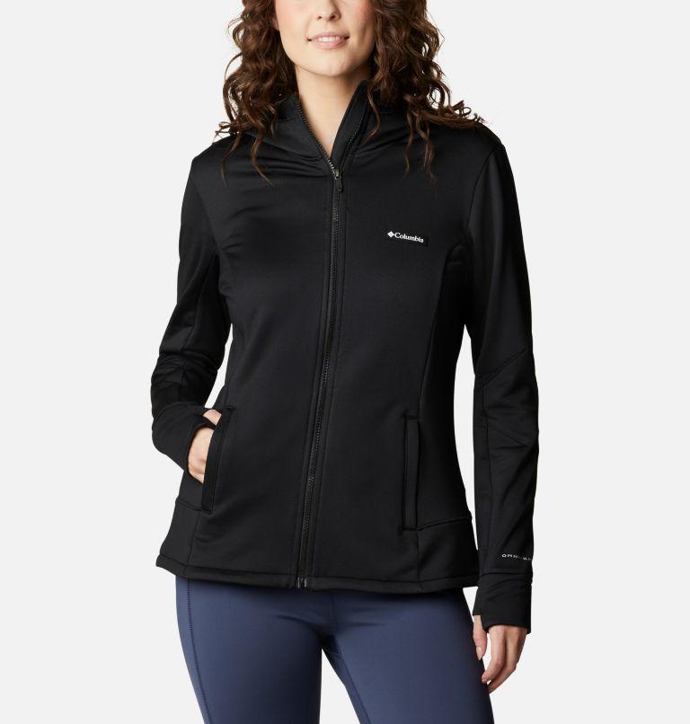Windgates™ Tech Fleece FZ | 010 | M Women's Windgates™ Tech Full Zip Fleece, Black, front