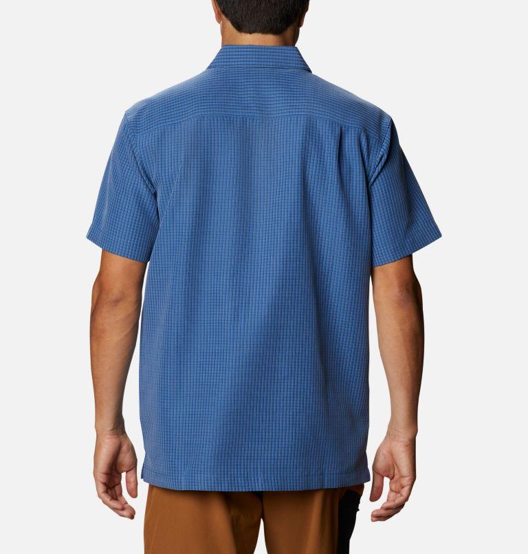 Lakeside Trail™ Short Sleeve II   432   XL Men's Lakeside Trail™ Short Sleeve II, Bright Indigo Window Plaid, back