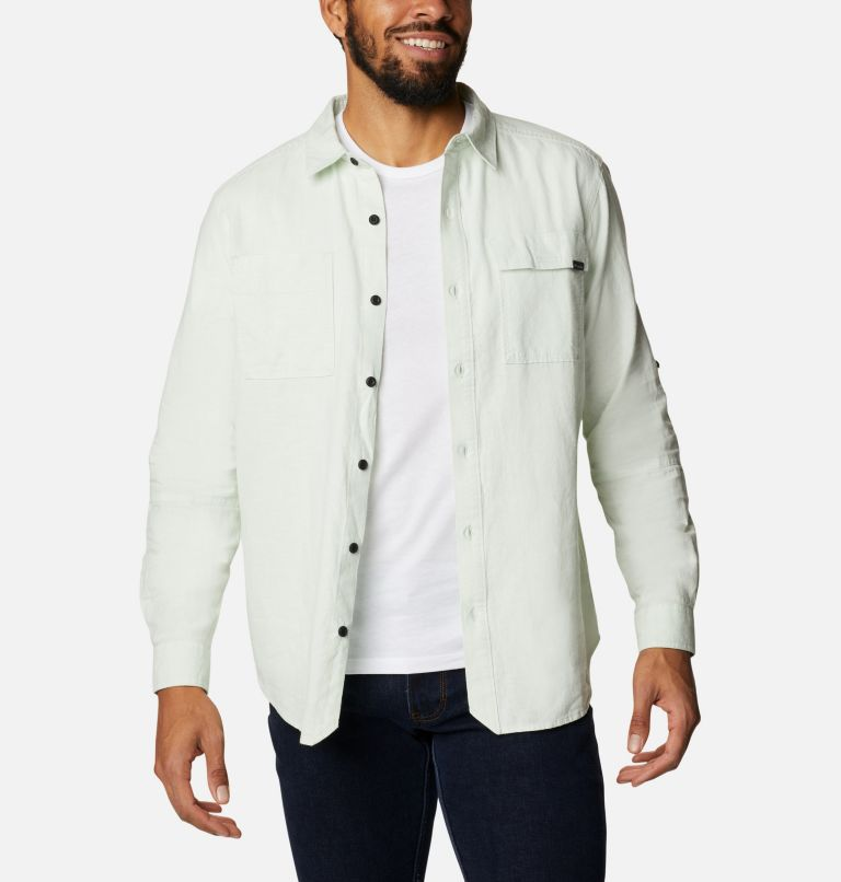 Men's Clarkwall™ Hemp Chambray Long Sleeve Shirt Men's Clarkwall™ Hemp Chambray Long Sleeve Shirt, front