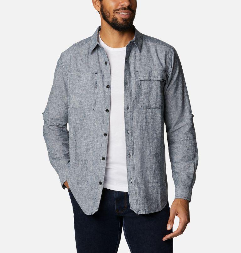 Men's Clarkwall™ Hemp Chambray Long Sleeve Shirt Men's Clarkwall™ Hemp Chambray Long Sleeve Shirt, front
