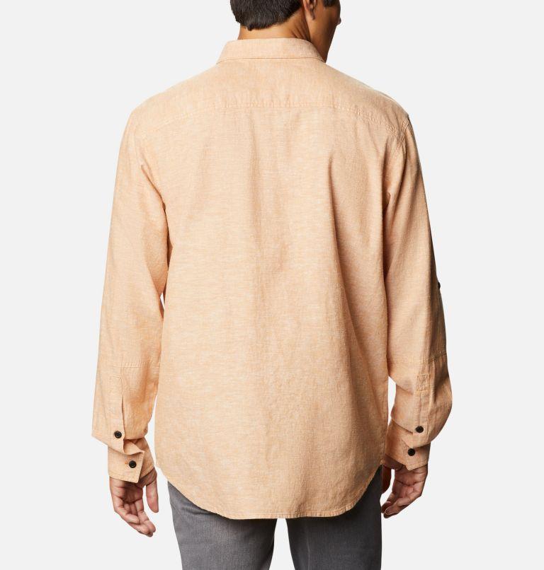 Men's Clarkwall™ Hemp Chambray Long Sleeve Shirt Men's Clarkwall™ Hemp Chambray Long Sleeve Shirt, back