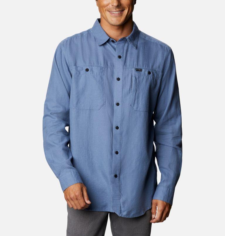 Chemise à manches longues en coton biologique antidéchirures Clarkwall™ pour homme Chemise à manches longues en coton biologique antidéchirures Clarkwall™ pour homme, front