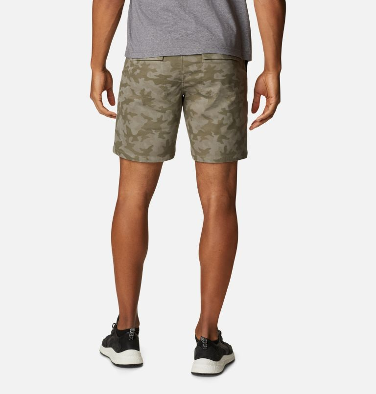 Clarkwall™ Organic Twill Short   397   28 Men's Clarkwall™ Organic Twill Shorts, Stone Green, back