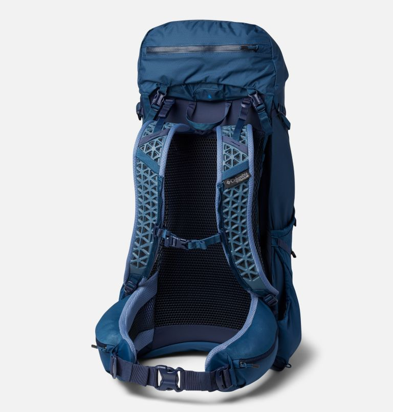 Titan Pass™ 48L Backpack   403   O/S Titan Pass™ 48L Backpack, Petrol Blue, back