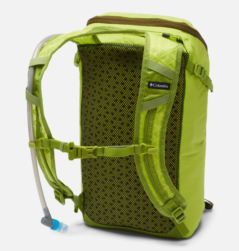 Maxtrail™ 16L Backpack with Reservoir | 386 | O/S Maxtrail™ 16L Backpack with Reservoir, Bright Chartreuse, Matcha, back