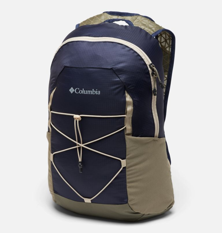 Tandem Trail™ 16L Backpack | 464 | O/S Unisex Tandem Trail™ 16L Backpack, Collegiate Navy, Stone Green, front