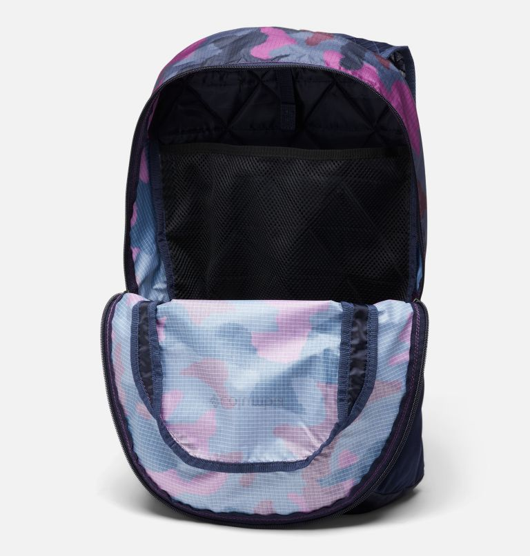 Tandem Trail™ 16L Backpack | 474 | O/S Unisex Tandem Trail™ 16L Backpack, Dark Nocturnal, Plum Camo, a1
