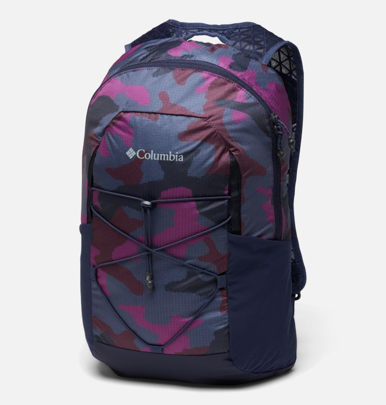 Tandem Trail™ 16L Backpack | 474 | O/S Unisex Tandem Trail™ 16L Backpack, Dark Nocturnal, Plum Camo, front