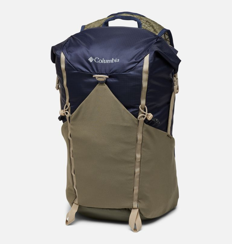 Tandem Trail™ 22L Backpack   464   O/S Unisex Tandem Trail™ 22L Backpack, Collegiate Navy, Stone Green, front