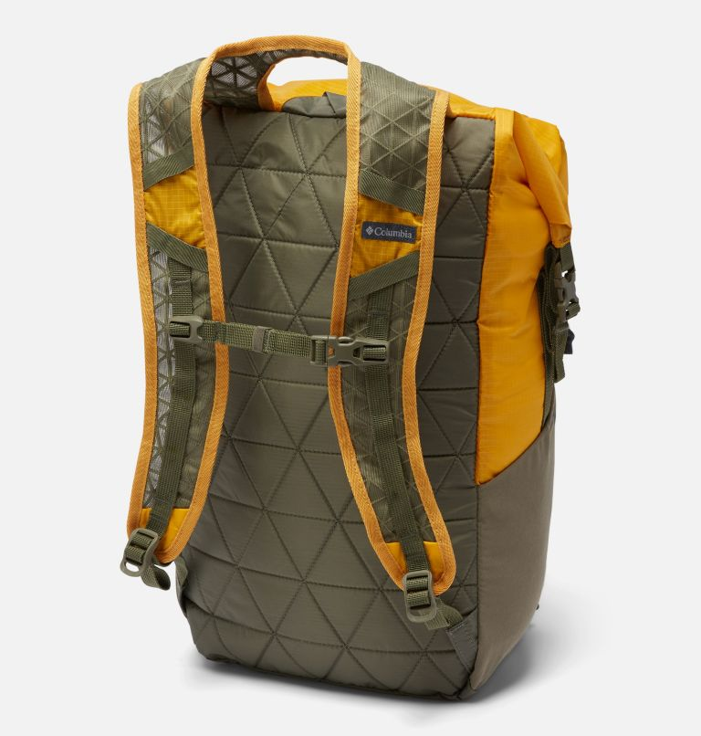 Tandem Trail™ 22L Backpack   790   O/S Unisex Tandem Trail™ 22L Backpack, Bright Gold, Stone Green, back