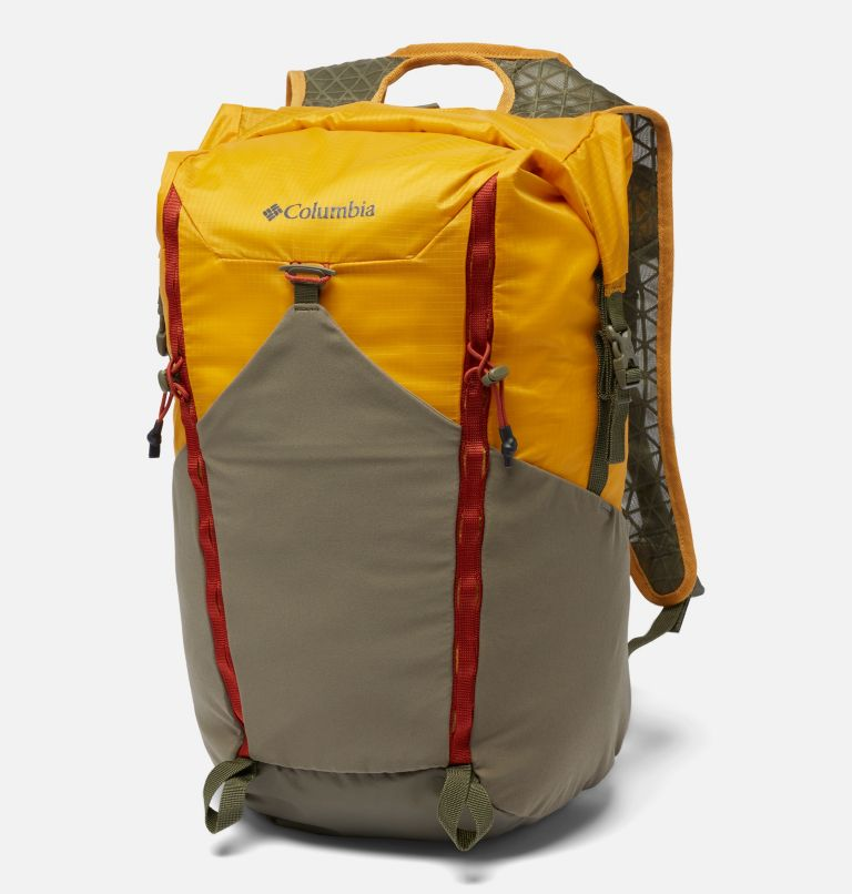Tandem Trail™ 22L Backpack   790   O/S Unisex Tandem Trail™ 22L Backpack, Bright Gold, Stone Green, front