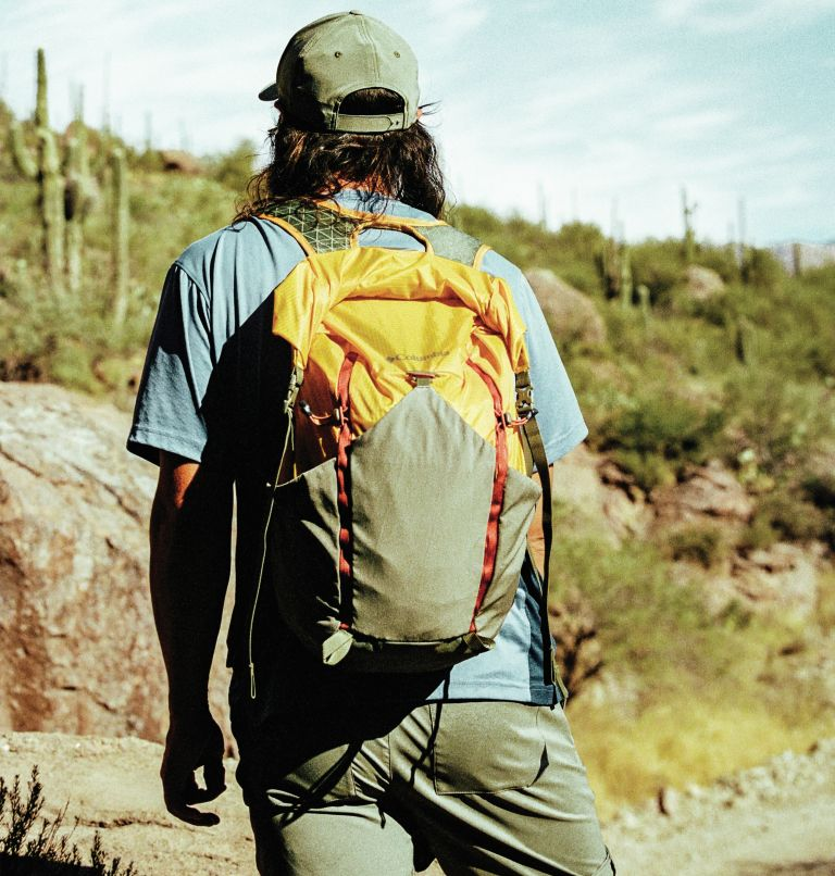 Tandem Trail™ 22L Backpack   790   O/S Unisex Tandem Trail™ 22L Backpack, Bright Gold, Stone Green