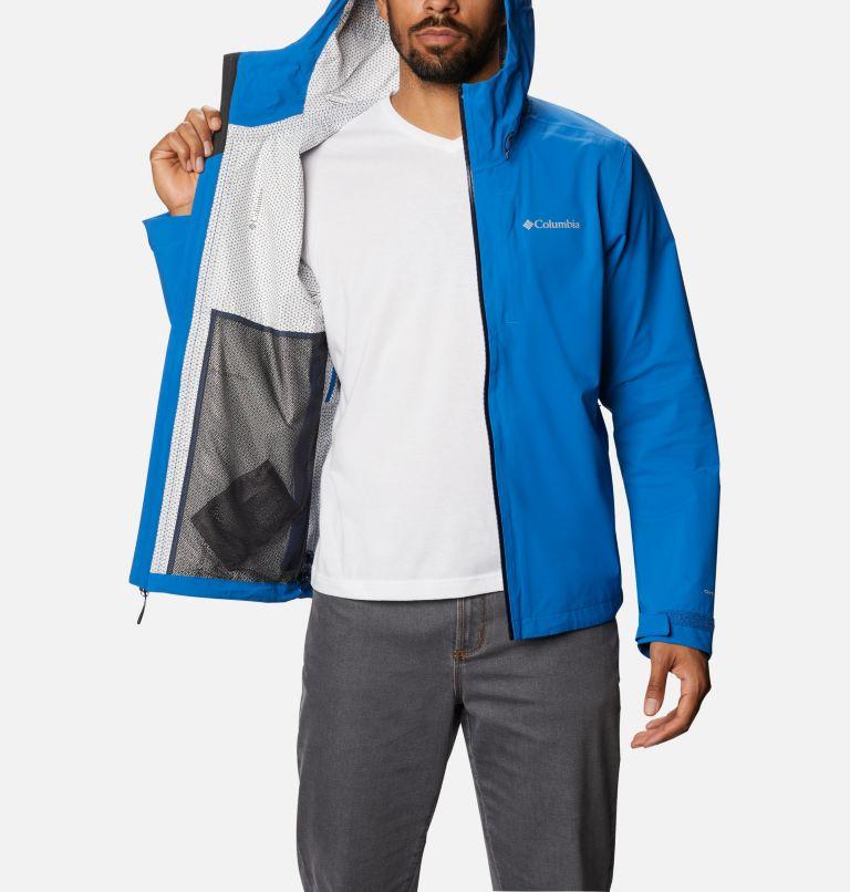 Omni-Tech™ Ampli-Dry™ Shell | 432 | S Men's Omni-Tech™ Ampli-Dry™ Shell Jacket, Bright Indigo, a3