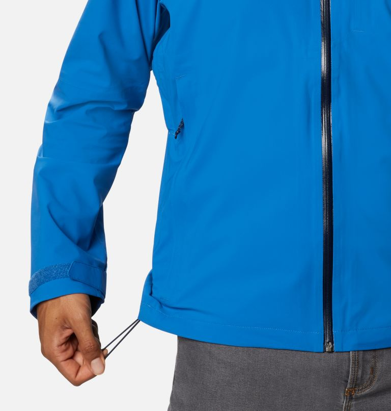 Omni-Tech™ Ampli-Dry™ Shell | 432 | S Men's Omni-Tech™ Ampli-Dry™ Shell Jacket, Bright Indigo, a6