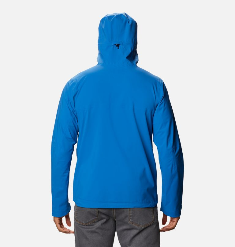 Omni-Tech™ Ampli-Dry™ Shell | 432 | S Men's Omni-Tech™ Ampli-Dry™ Shell Jacket, Bright Indigo, back