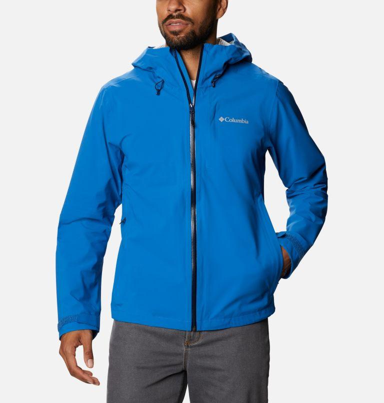 Omni-Tech™ Ampli-Dry™ Shell | 432 | S Men's Omni-Tech™ Ampli-Dry™ Shell Jacket, Bright Indigo, front