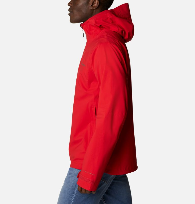Omni-Tech™ Ampli-Dry™ Shell   691   S Men's Omni-Tech™ Ampli-Dry™ Shell Jacket, Bright Red, a1