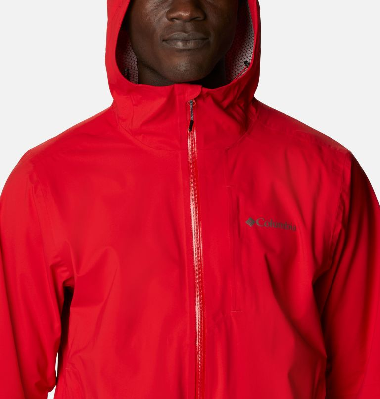 Omni-Tech™ Ampli-Dry™ Shell | 691 | M Men's Omni-Tech™ Ampli-Dry™ Shell Jacket, Bright Red, a2