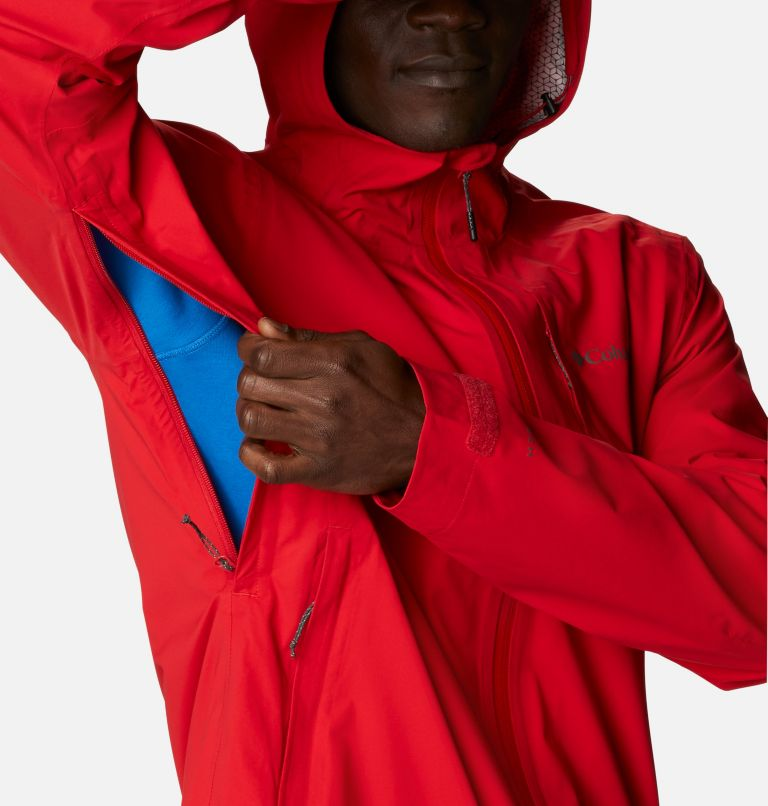 Omni-Tech™ Ampli-Dry™ Shell   691   S Men's Omni-Tech™ Ampli-Dry™ Shell Jacket, Bright Red, a5