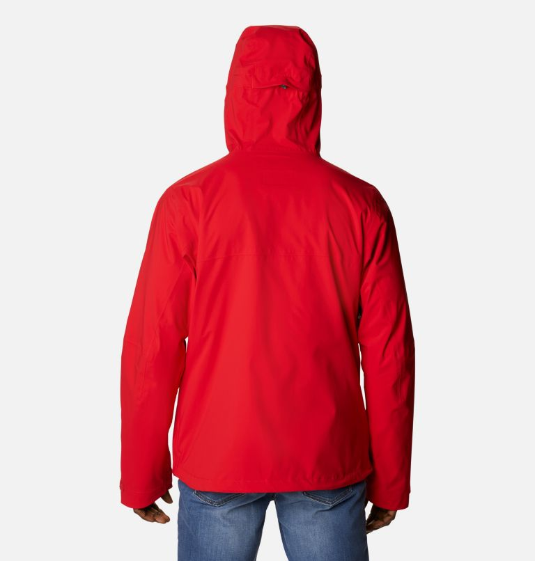 Omni-Tech™ Ampli-Dry™ Shell | 691 | M Men's Omni-Tech™ Ampli-Dry™ Shell Jacket, Bright Red, back