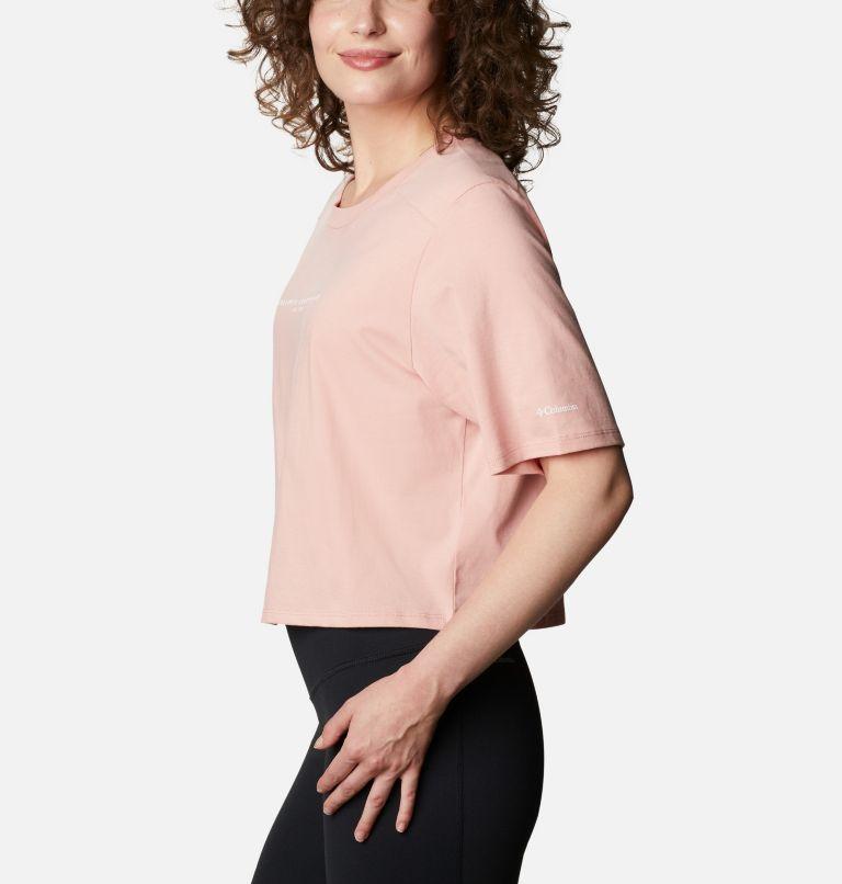 Columbia Park™ Box Tee | 672 | M Women's Park™ Box T-Shirt, Faux Pink, a1