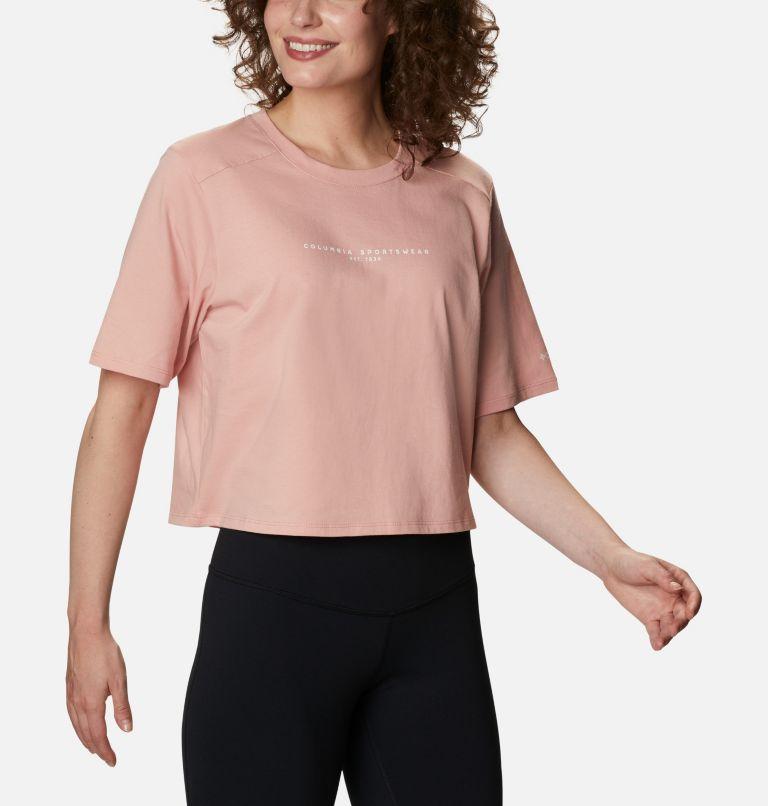 Columbia Park™ Box Tee | 672 | M Women's Park™ Box T-Shirt, Faux Pink, a3