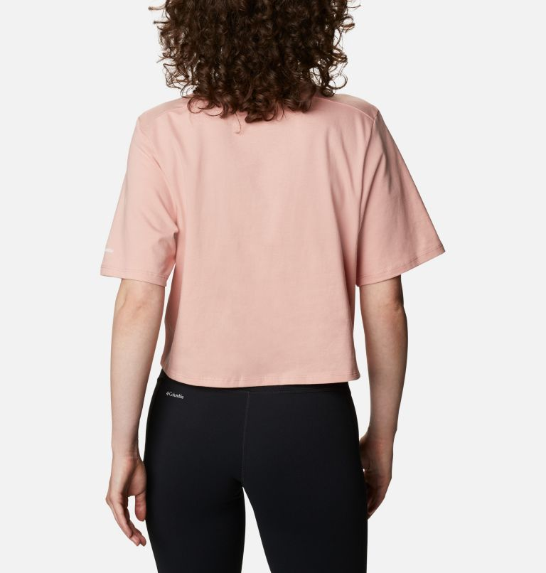 Columbia Park™ Box Tee | 672 | M Women's Park™ Box T-Shirt, Faux Pink, back
