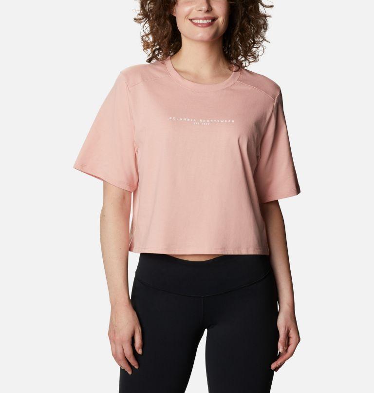 Columbia Park™ Box Tee | 672 | M Women's Park™ Box T-Shirt, Faux Pink, front