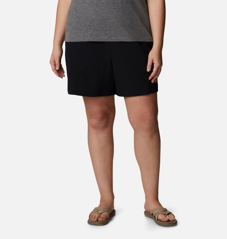 Women's Uptown Crest™ Shorts - Plus Size Women's Uptown Crest™ Shorts - Plus Size, front