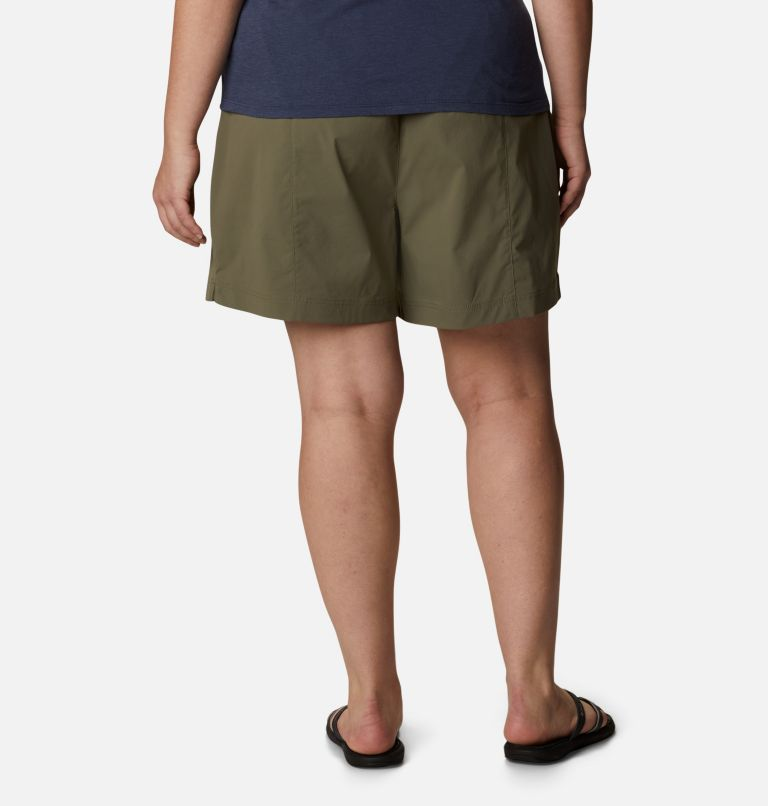 Women's Uptown Crest™ Shorts - Plus Size Women's Uptown Crest™ Shorts - Plus Size, back