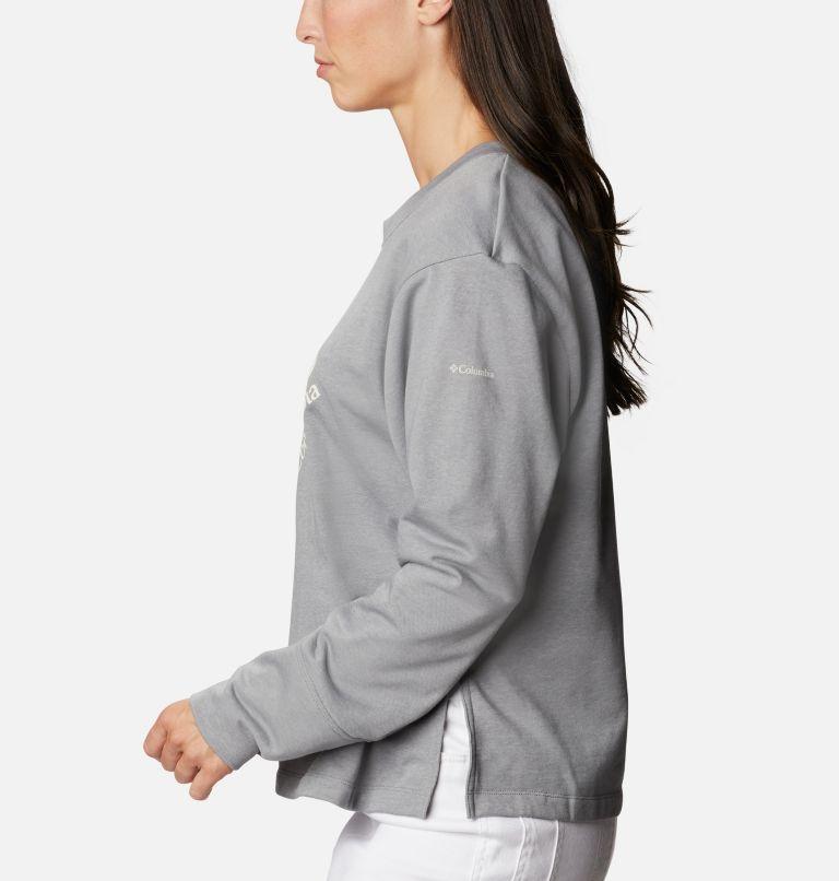 Chandail à col rond en tissu éponge Columbia™ Logo pour femme Chandail à col rond en tissu éponge Columbia™ Logo pour femme, a1