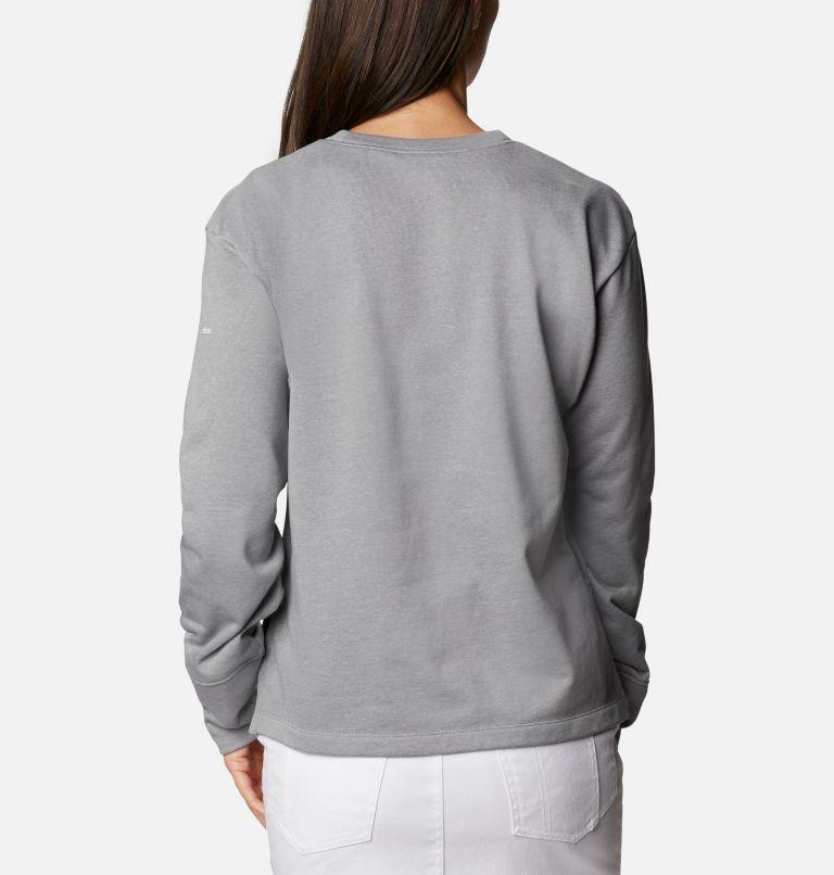 Chandail à col rond en tissu éponge Columbia™ Logo pour femme Chandail à col rond en tissu éponge Columbia™ Logo pour femme, back