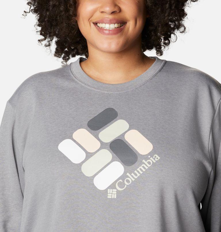 Chandail à col rond en tissu éponge Columbia™ Logo pour femme - Grandes tailles Chandail à col rond en tissu éponge Columbia™ Logo pour femme - Grandes tailles, a2
