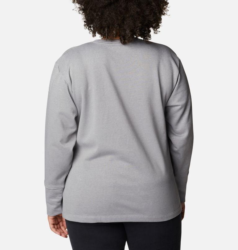 Chandail à col rond en tissu éponge Columbia™ Logo pour femme - Grandes tailles Chandail à col rond en tissu éponge Columbia™ Logo pour femme - Grandes tailles, back