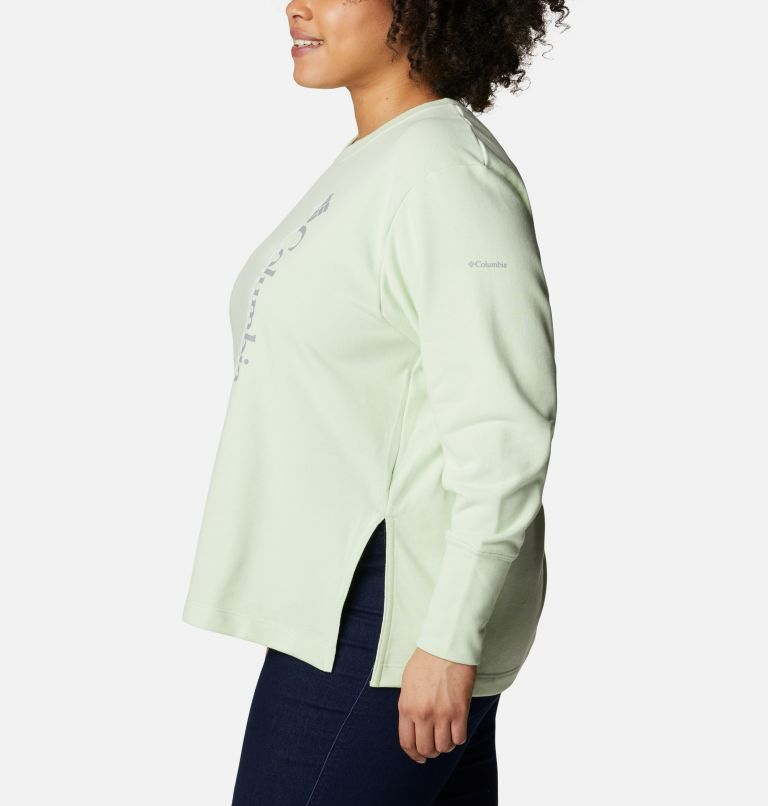 Women's Columbia™ Logo French Terry Crew - Plus Size Women's Columbia™ Logo French Terry Crew - Plus Size, a1