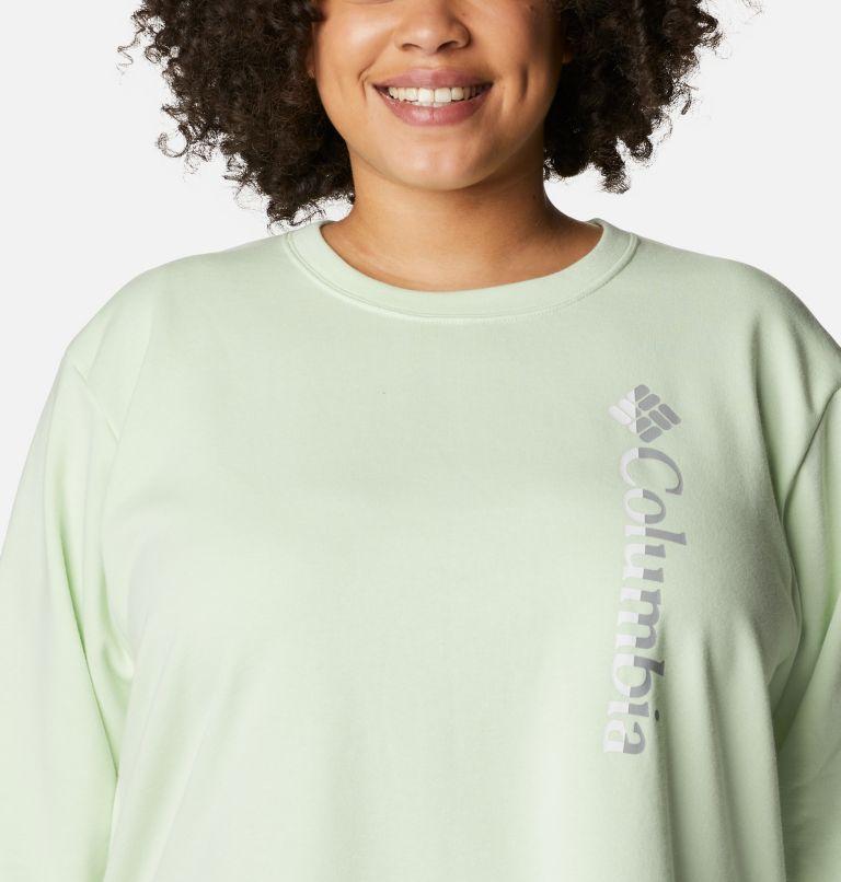 Women's Columbia™ Logo French Terry Crew - Plus Size Women's Columbia™ Logo French Terry Crew - Plus Size, a2