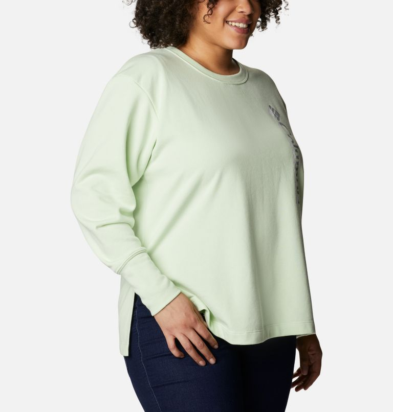 Women's Columbia™ Logo French Terry Crew - Plus Size Women's Columbia™ Logo French Terry Crew - Plus Size, a3