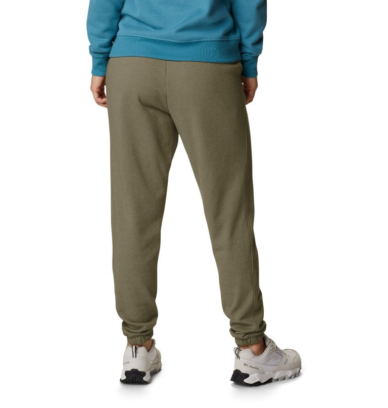 Columbia Logo™ II French Terry Jogger | 397 | XXL Women's Columbia™ Logo II French Terry Joggers, Stone Green, back