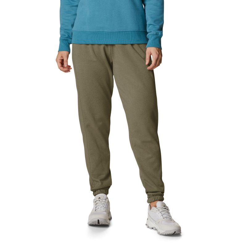 Columbia Logo™ II French Terry Jogger | 397 | XXL Women's Columbia™ Logo II French Terry Joggers, Stone Green, front