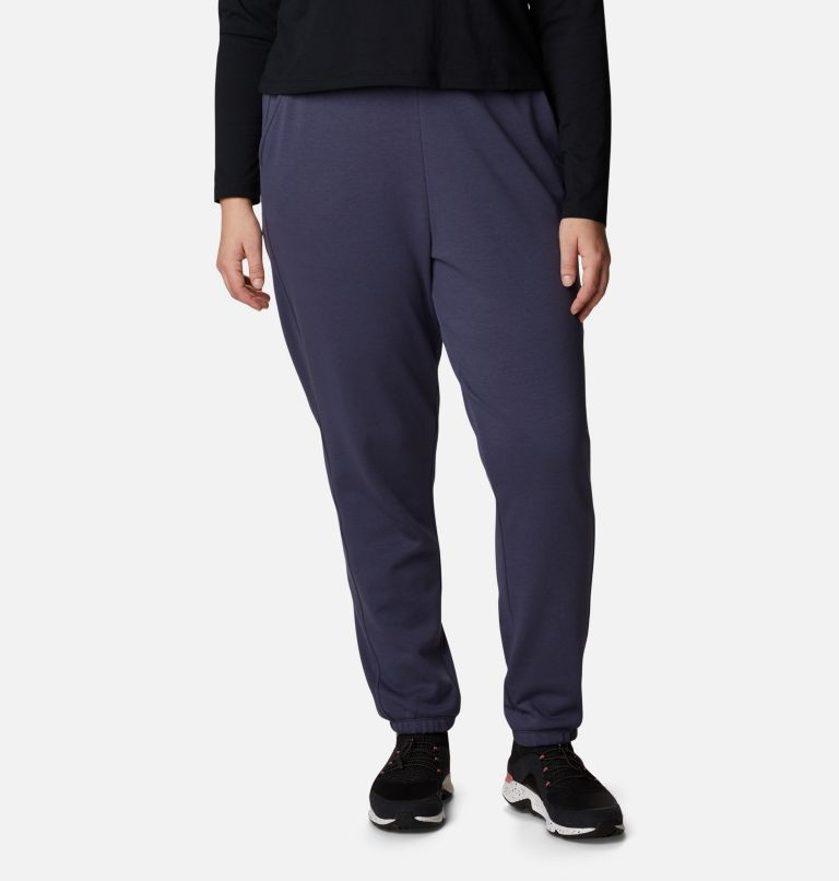 Women's Columbia™ Logo II French Terry Joggers - Plus Size Women's Columbia™ Logo II French Terry Joggers - Plus Size, front