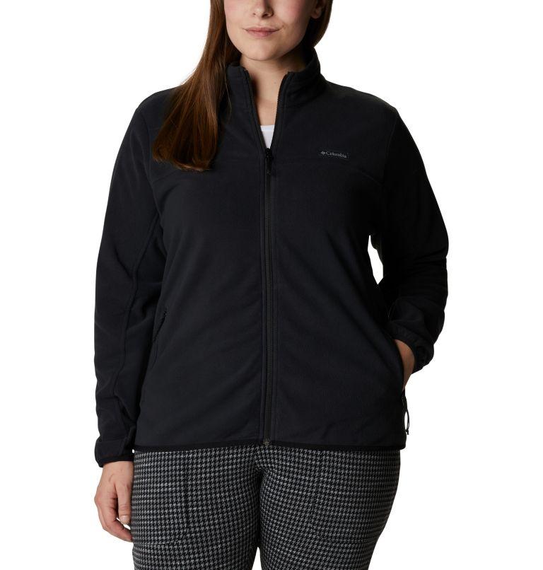 Women's Ali Peak Full Zip Fleece Jacket - Plus Size Women's Ali Peak Full Zip Fleece Jacket - Plus Size, front