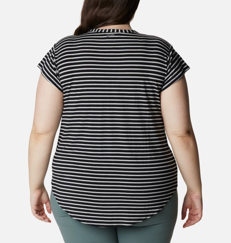 Women's Essential Elements™ Relaxed T-Shirt - Plus Size Women's Essential Elements™ Relaxed T-Shirt - Plus Size, back