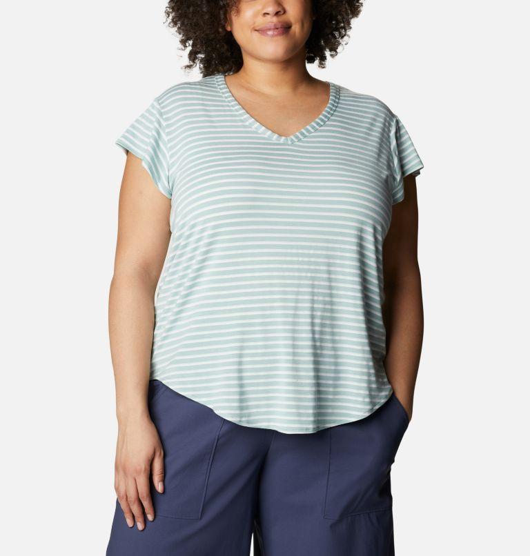 T-shirt décontracté Essential Elements™ pour femme - Grandes tailles T-shirt décontracté Essential Elements™ pour femme - Grandes tailles, front
