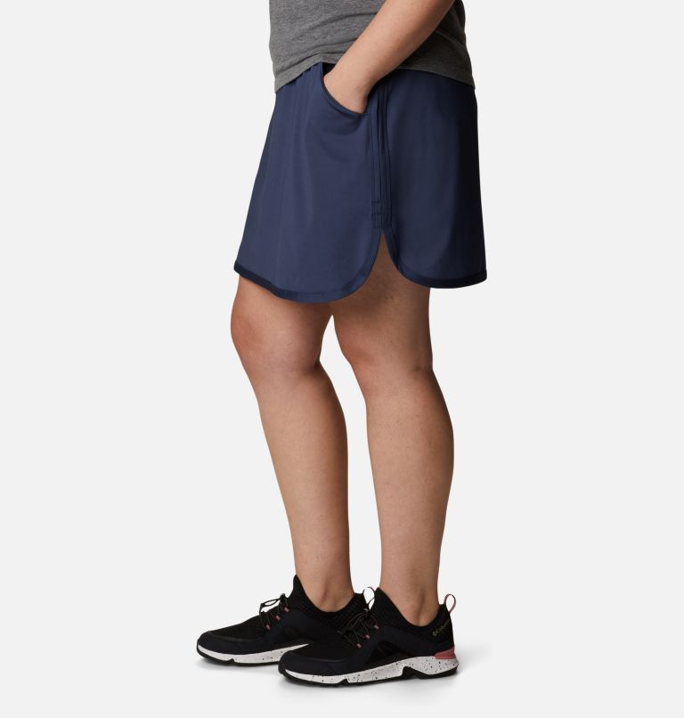Sandy Creek™ Stretch Skort | 466 | 1X Women's Sandy Creek™ Stretch Skort - Plus Size, Nocturnal, a1